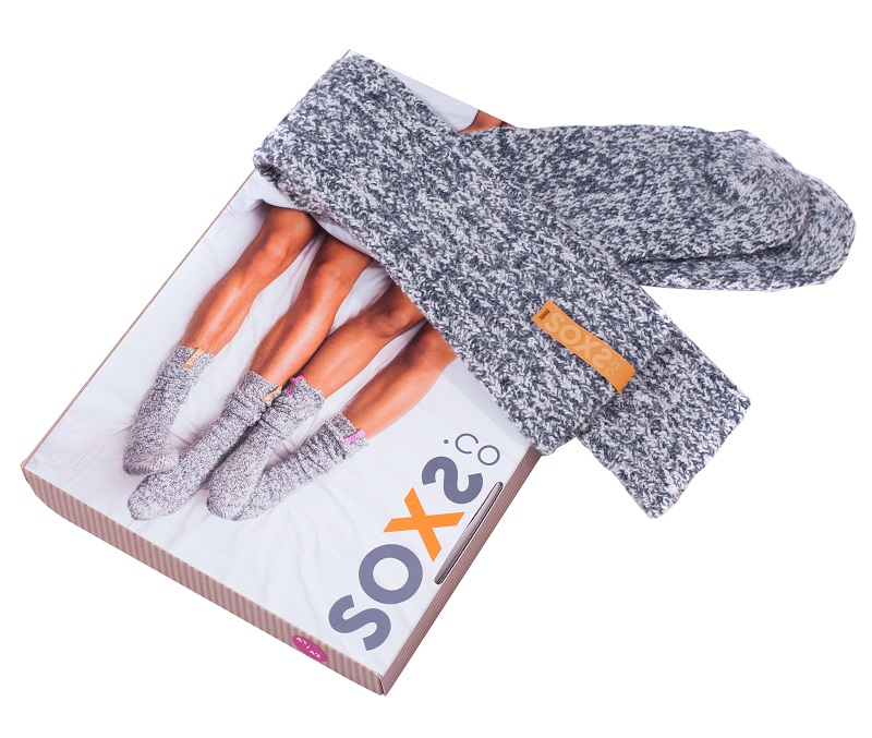 soxs geitewollen sokken verpakking