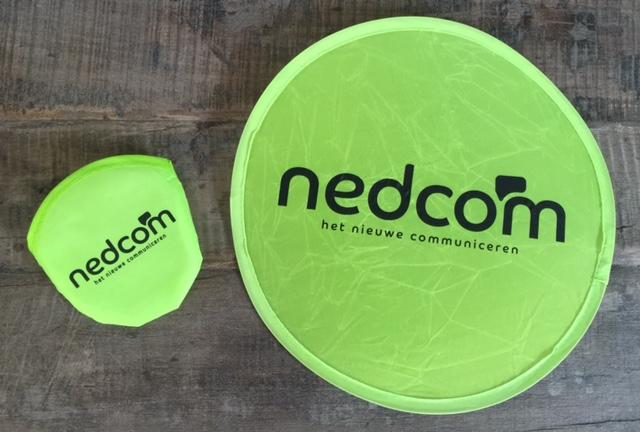 Inklapbare frisbee