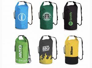 Voorbeelden gepersonaliseerde duffelbag