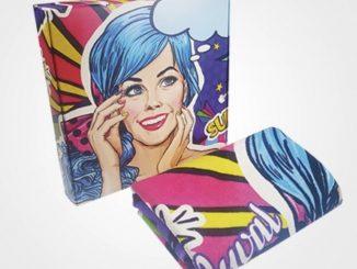full color bedrukte handdoek