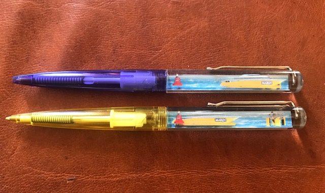 pen met een beweegbaar onderdeel