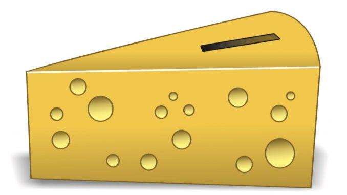 kaas spaarpot uitgangspunt