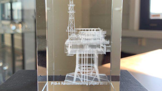 3D Presse papier boorplatform