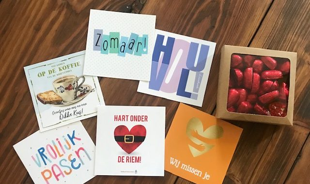 Creatieve kaartjes #hartonderderiem pakketjes