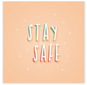 kaart stay safe